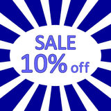 Store sale background. Stock Images