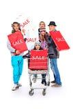 Store sale Stock Photos