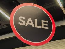 Store Sale sign. In UK Stock Image