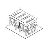 Store shop building Stock Images