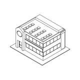 Store shop building Stock Image