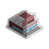 Store shop building Royalty Free Stock Photo