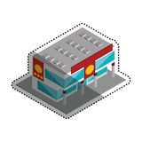 Store shop building Royalty Free Stock Photos
