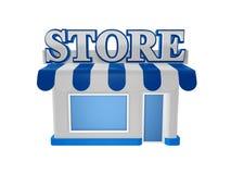 Store shop stock illustration