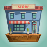 Store or shop facade. Flat design Stock Photo