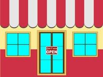 Store Shop Facade (Vector) Stock Photo