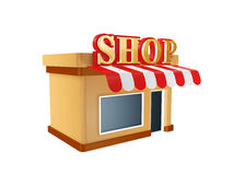 Store shop Royalty Free Stock Photography