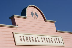 Store sign Royalty Free Stock Image