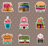 Store stickers Royalty Free Stock Photos