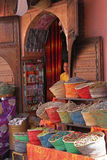 Store in the streets of Marrakesh Royalty Free Stock Images