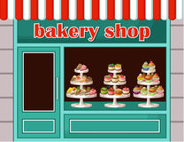 Store of sweets and bakery. Stock Photography