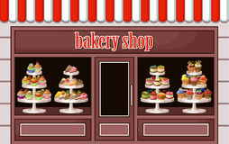Store of sweets and bakery. Royalty Free Stock Photography