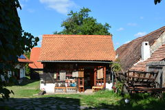 Store in a typical  house in the village Viscri, Transylvania. Royalty Free Stock Images