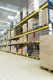 Store warehouse Royalty Free Stock Image