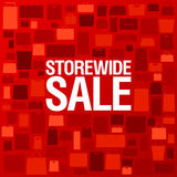 Store wide sale background. Royalty Free Stock Photos