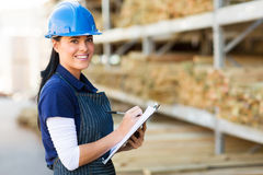 Store worker warehouse Stock Images
