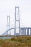 Storebæltsbroen Stockbilder