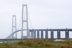 Storebæltsbroen Stockfoto