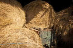 Stored Bales Stock Photos