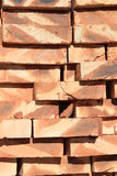 Stored brick Stock Photography
