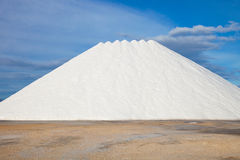 Stored salt Royalty Free Stock Photos