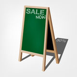 Storefront chalkboard labels Royalty Free Stock Images