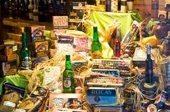 Storefront delicacies Stock Image