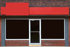 StoreFront. Empty storefront with great possibilities for small business Royalty Free Stock Photos