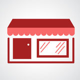 Storefront icon Royalty Free Stock Photography