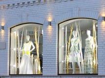 storefront mannequins Royalty-vrije Stock Foto