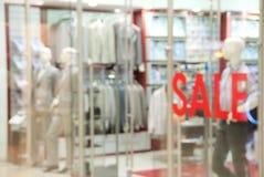 Storefront of men's clothing shop Stock Photo