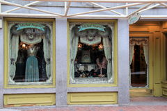 Storefront of Michal Negrin specialty shop,Boston Royalty Free Stock Photo