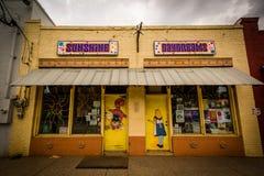 Storefront in NoDa, Charlotte, North Carolina. Stock Image