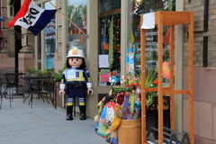 Storefront of Nordica Toystore, Main Sttreet,New Milford,Ct,2015 Royalty Free Stock Photos