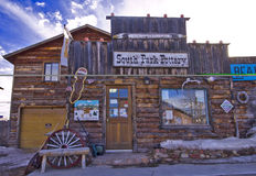 Storefront. A pottery store in south park, colorado Stock Images