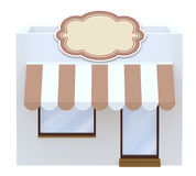 Storefront symbol 3d illustration Stock Photo