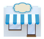 Storefront symbol 3d illustration Stock Photo