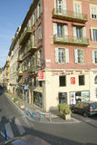Storefronts, Nice, France Stock Images