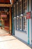Storefronts in Pensacola Florida royalty-vrije stock foto's