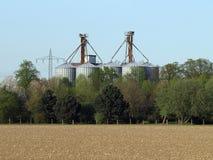 storehouse зерна Стоковые Изображения