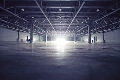 темный storehouse Стоковые Изображения