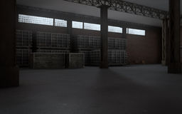 Storehouse Imagens de Stock Royalty Free