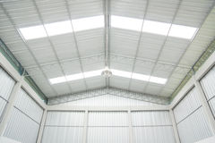 Storehouse ceiling Royalty Free Stock Photo