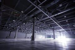 Storehouse escuro Fotos de Stock Royalty Free