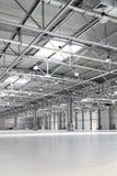 Storehouse. Interior of big empty storehouse Stock Photo
