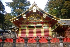 The Storehouse, Nikko, Japan Stock Photo