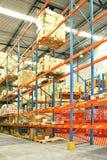 Storehouse shelf Stock Photo