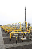 Storehouse subterrâneo do gás Imagem de Stock