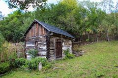 Wooden Cottage Royalty Free Stock Photo