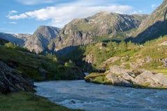 Storelvi, Норвегия стоковые изображения